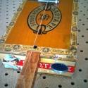 antique santa fe cigar box diddly bow