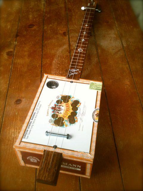 $99 cigar box guitar