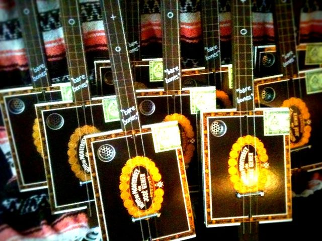 $99 cigar box guitars